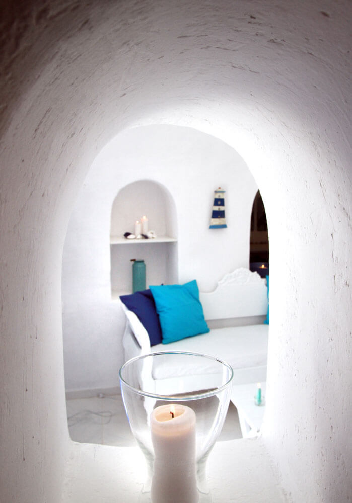 Blu Bianco Cave House Oia Santorini - Photo Gallery